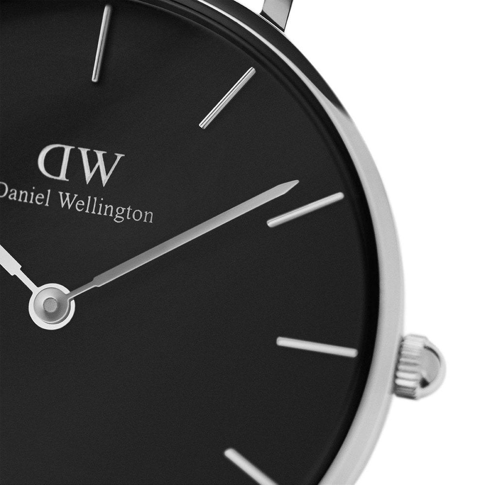 Daniel Wellington Classic Petite Ashfield 32mm Silver Watch