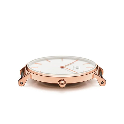 Daniel Wellington Classic Petite Bristol 28mm Rose Gold Watch