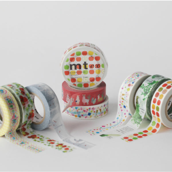 MT EX Washi Tape Seven Herbs Of Spring