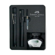 Load image into Gallery viewer, Faber-Castell Grip Edition Fountain & Ballpoint Pen Gift Set Black