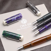 Load image into Gallery viewer, Pre-Order Opus 88 Omar Fountain Pen Grey