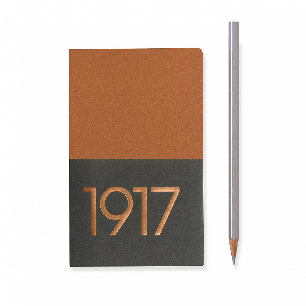 Leuchtturm1917 Metallic Edition A6 Pocket Jottbook Copper - Ruled (Twin Pack)