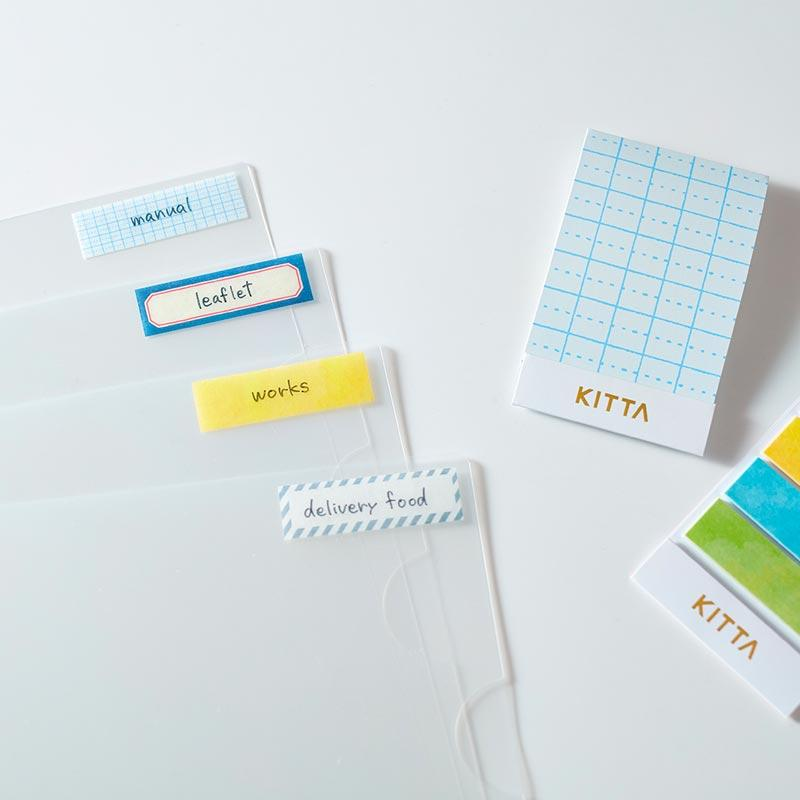 KITTA Washi Tape Vidro
