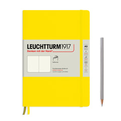 Leuchtturm1917 Softcover A5 Medium Notebook Lemon - Dotted