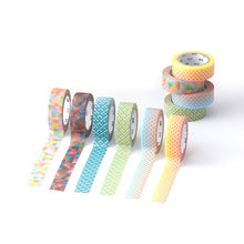 Load image into Gallery viewer, MT Deco Washi Tape Mesh Green