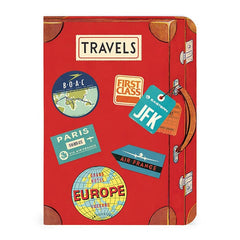 Cavallini Mini Notebook Set of 3 Vintage Travel