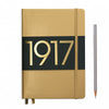 Leuchtturm1917 Metallic Edition A5 Medium Notebook Gold - Dotted