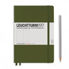 Leuchtturm1917 Hardcover A5 Medium Notebook Army - Dotted