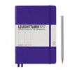 Leuchtturm1917 Hardcover A5 Medium Notebook Purple - Plain