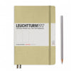 Leuchtturm1917 Hardcover A5 Medium Notebook Sand - Dotted