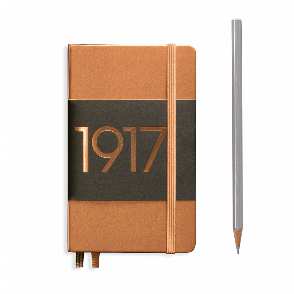 Leuchtturm1917 Metallic Edition A6 Pocket Notebook Copper - Ruled