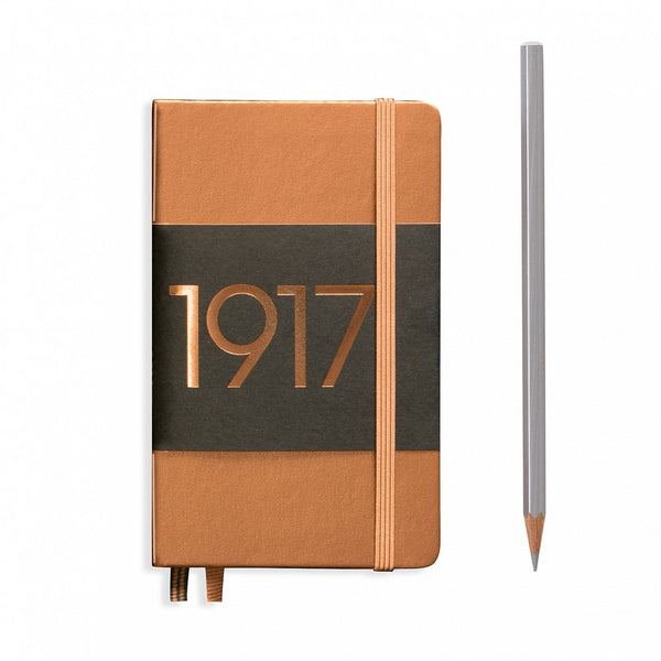 Leuchtturm1917 Metallic Edition A6 Pocket Notebook Copper - Plain