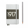Leuchtturm1917 Metallic Edition A6 Pocket Notebook Silver - Plain