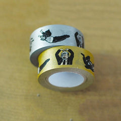 Classiky x Nancy Seki Ojisan Washi Tape Gold