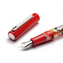 Load image into Gallery viewer, Pre-Order Opus 88 Flow Fountain Pen Red