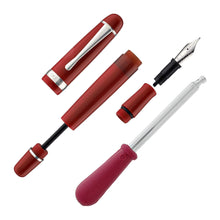 Load image into Gallery viewer, Pre-Order Opus 88 Jazz Fountain Pen Solid Red