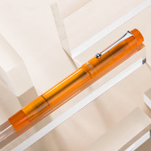 Load image into Gallery viewer, Pre-order Opus 88 Demonstrator Fountain Pen Orange