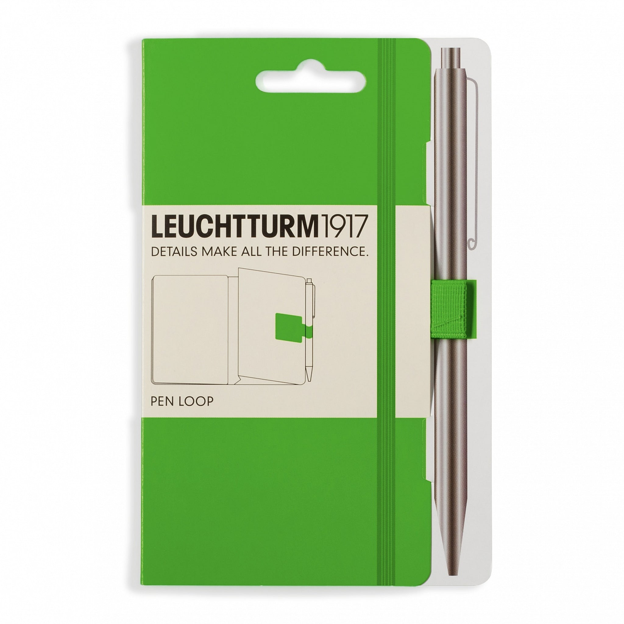 Leuchtturm1917 Pen Loop Fresh Green