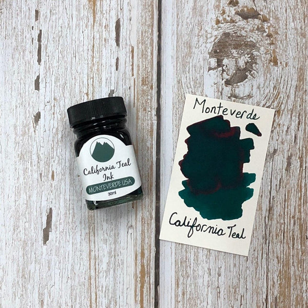 Monteverde 30ml Ink Bottle California Teal