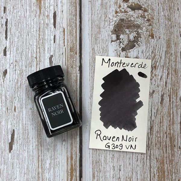 Monteverde 30ml Ink Bottle Raven-Noir