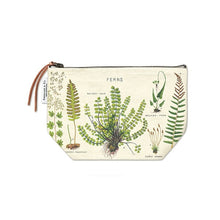 Load image into Gallery viewer, Cavallini Vintage Pouch Ferns
