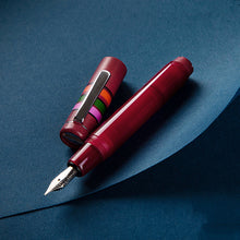 Load image into Gallery viewer, Pre-order Opus 88 Fantasia Fountain Pen Red