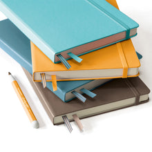 Load image into Gallery viewer, Leuchtturm1917 Hardcover A5 Medium Notebook Aquamarine - Ruled
