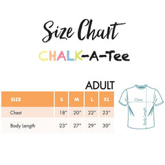 Chalkapella Chalk-A-Tee (Adult) XL