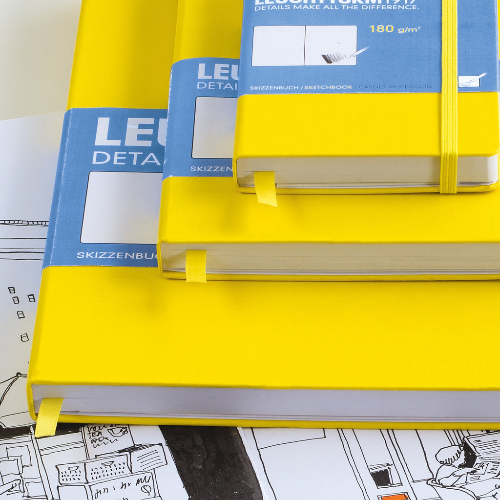 Leuchtturm1917 Hardcover A5 Medium Sketchbook Lime