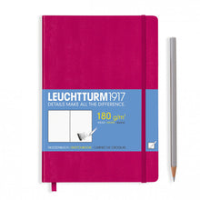 Load image into Gallery viewer, Leuchtturm1917 Hardcover A5 Medium Sketchbook Berry