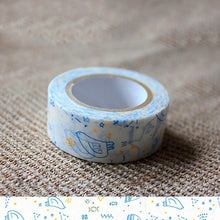 Load image into Gallery viewer, Classiky x Tomomi Irago Starlit Sky Blue Washi Tape - Cityluxe