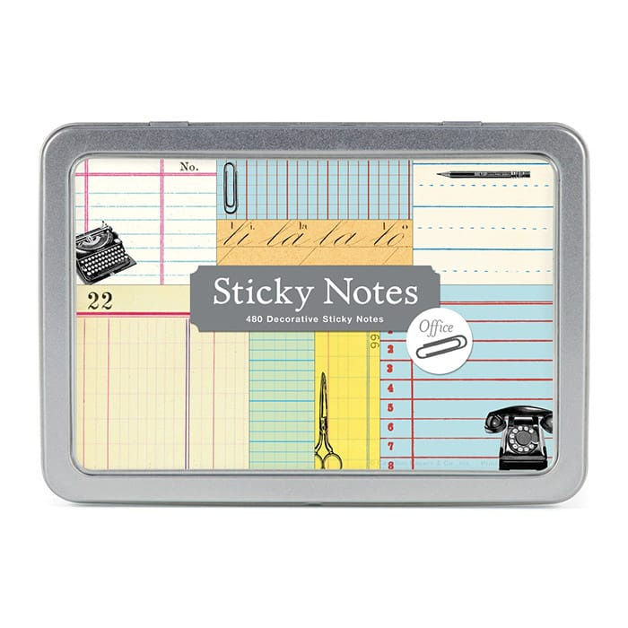 Cavallini Sticky Notes Office