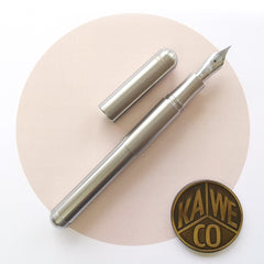 Kaweco Supra Fountain Pen Stainless Steel