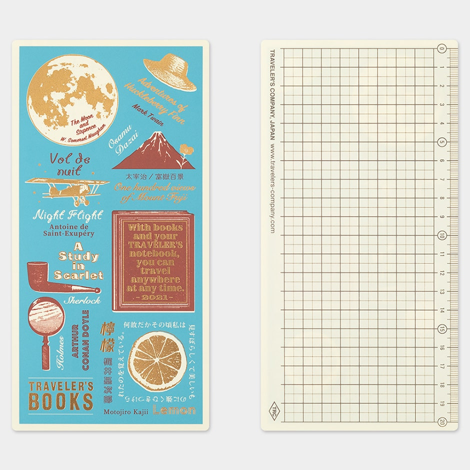 Traveler's Notebook 2021 (Regular Size) Plastic Sheet