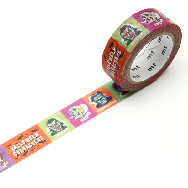 MT Halloween 2019 Washi Tape Halloween Characters