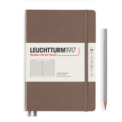 Leuchtturm1917 Hardcover A5 Medium Notebook Warm Earth - Ruled