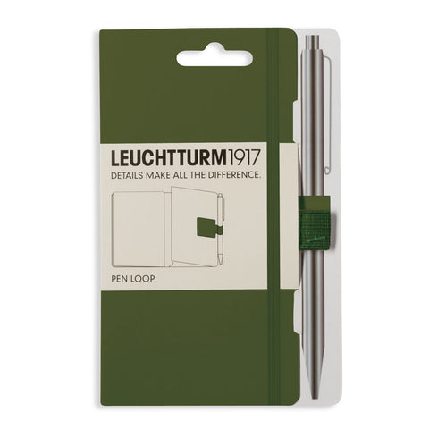 Leuchtturm1917 Pen Loop Army