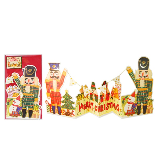 D'Won 3D Pop Up Card Card Toy Soldiers