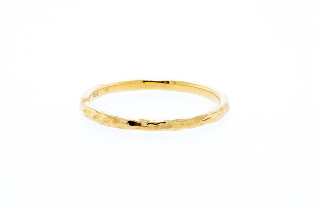14K Yellow Gold Willow Ring