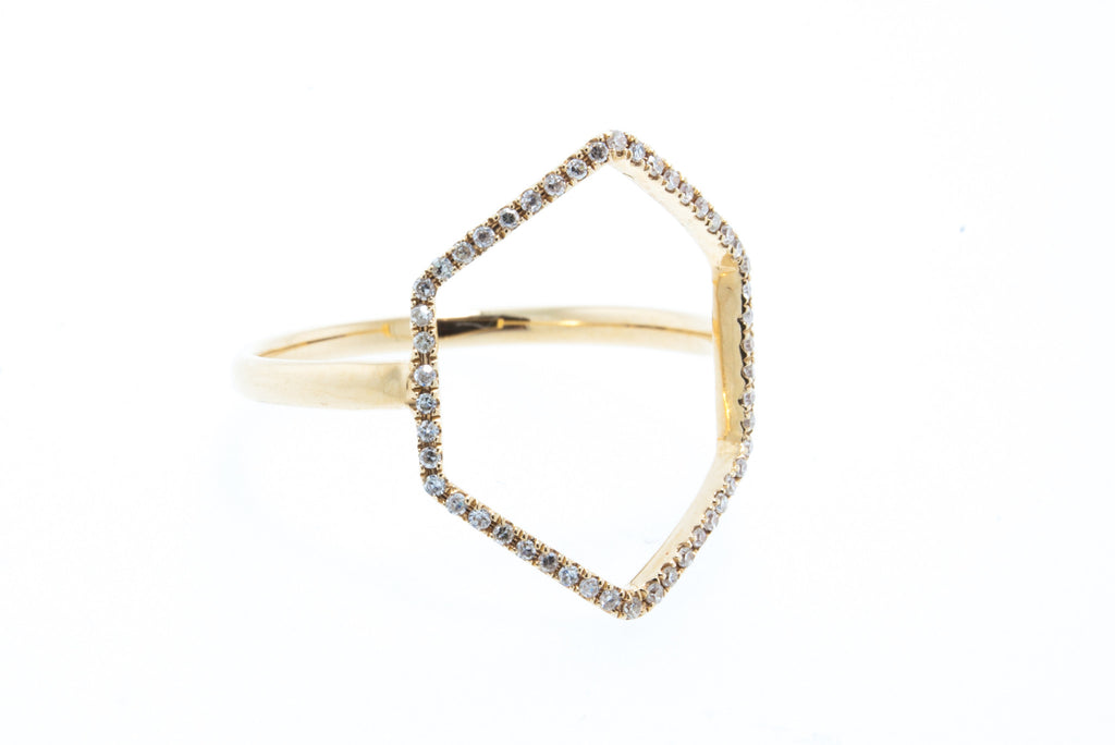 14K Yellow Gold Angie Ring