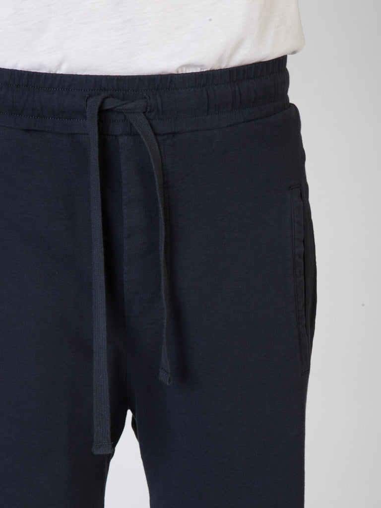 Commoners Fleece Mens Shorts Charcoal Front Detail