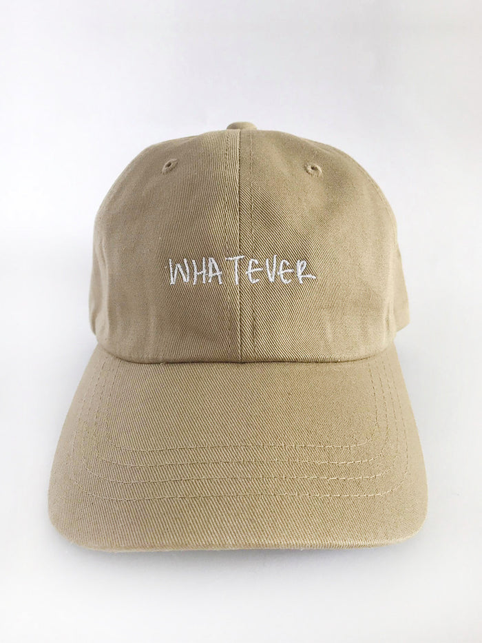 The Sartorial Whatever low profile mens dad hat front