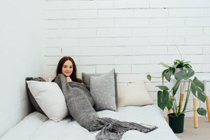 cozy mermaid body blankets