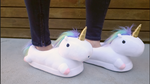 cute unicorn slippers for home