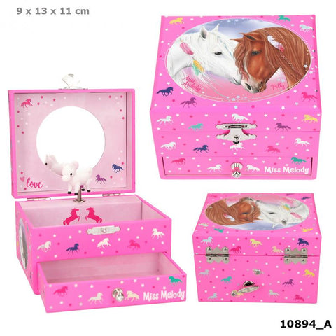 Miss Melody Music Box With Horse