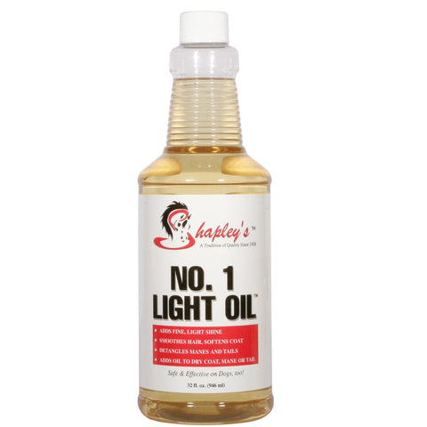 Shapley's No. 1 Light Oil