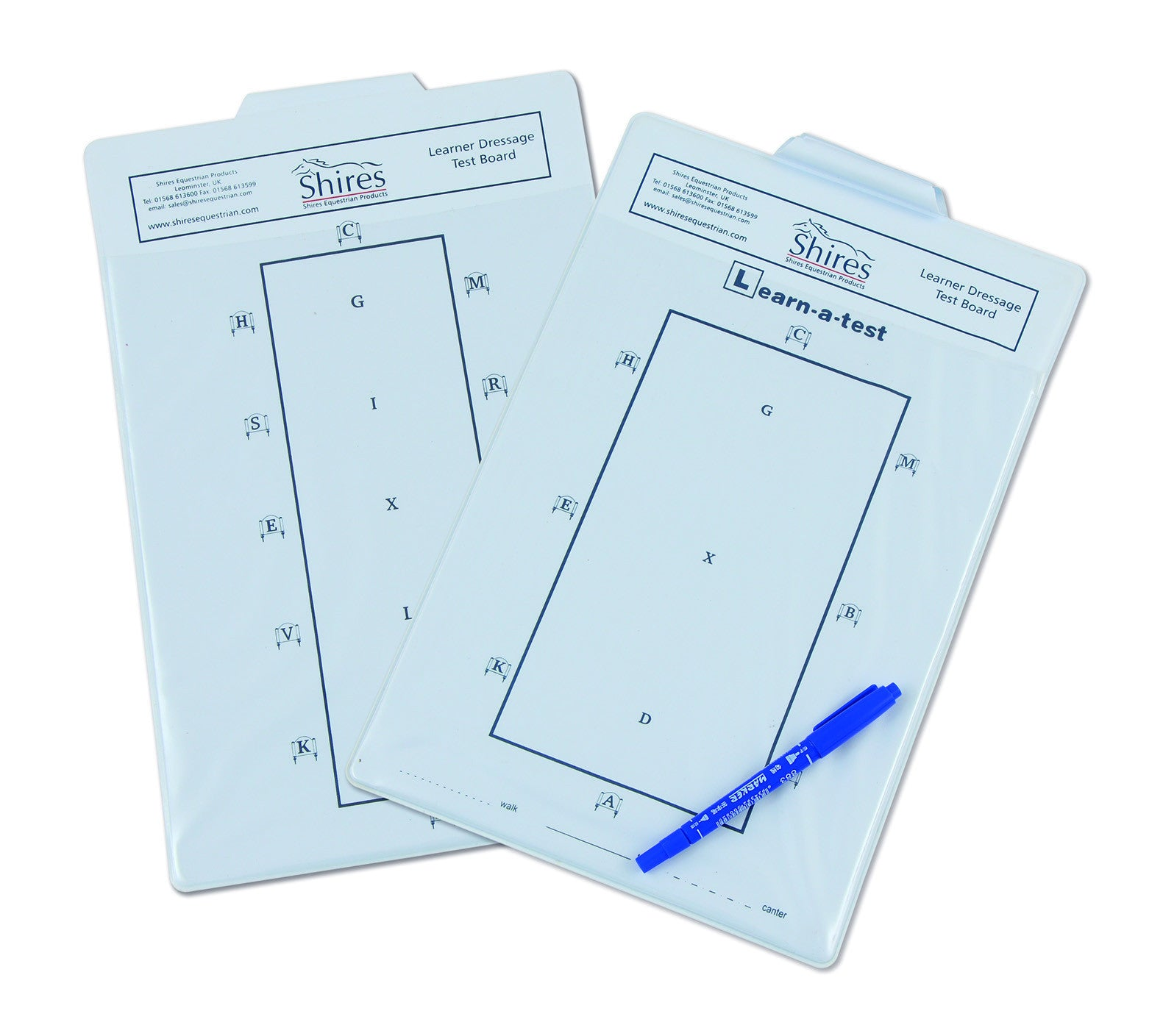 Learner Dressage Test Board