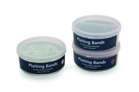 Shires Plaiting Bands - Tub