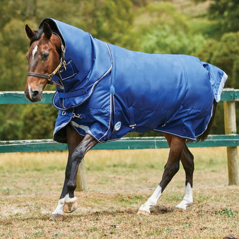 WeatherBeeta ComFiTec Ultra Tough Medium Weight Turnout Rug