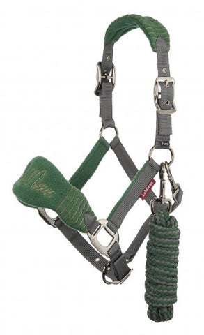 LeMieux Vogue Fleece Headcollar with Leadrope
